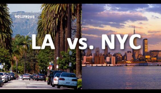 New york city versus los angeles style profiles college news for New york city to los angeles