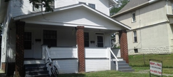 3 BR Half Double 4 Blocks N Lane Ave