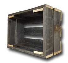 Barnwood Crate Decorative Weathered Wood Crate by Barnwood Decor of OKC